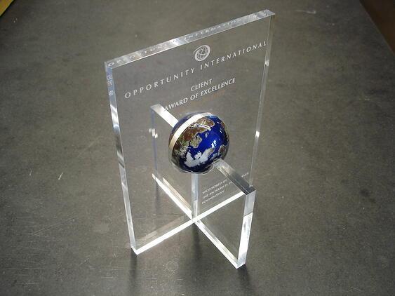 Award scale model