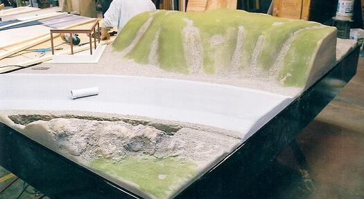 topographic model