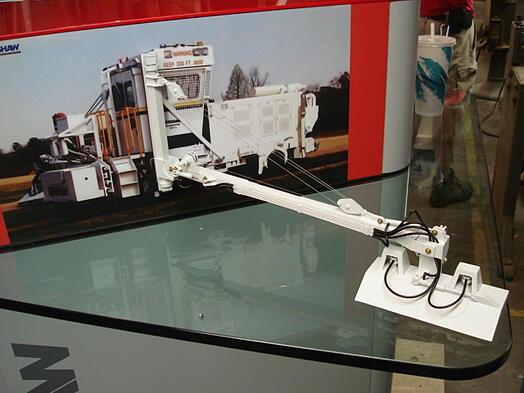 product model, construction equipment model