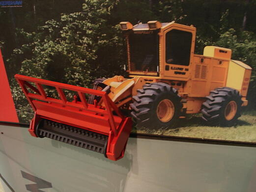 product model, construction equipment model, trade show product model