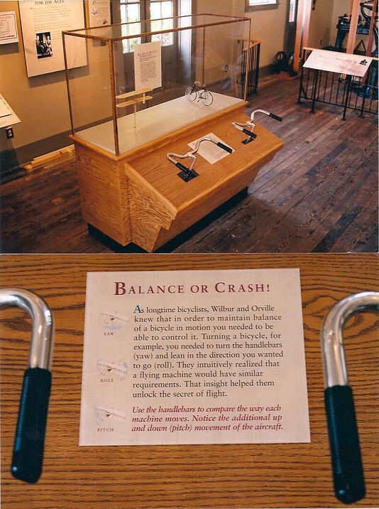 wright museum interactive exhibit