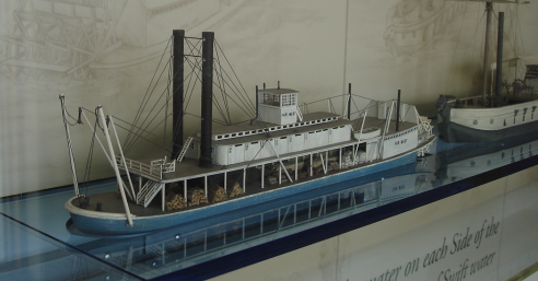 Far West boat model