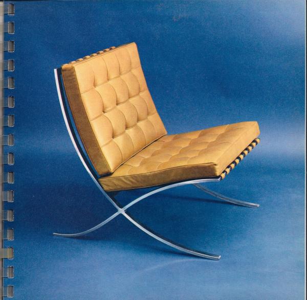 Barcelona Chair 1929 resized 600