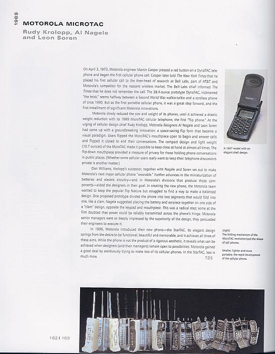Motorola Microtac 1989