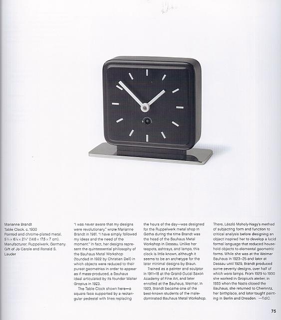 1930 Table Clock