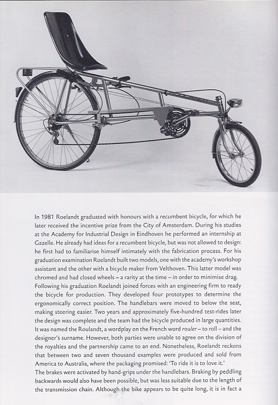 Roelandt recumbent bicycle
