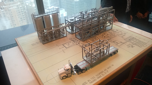 UOP Gasification Plant Model