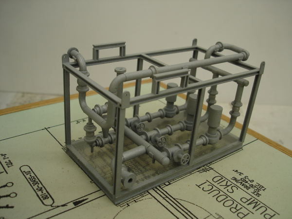 Gas processing plant model