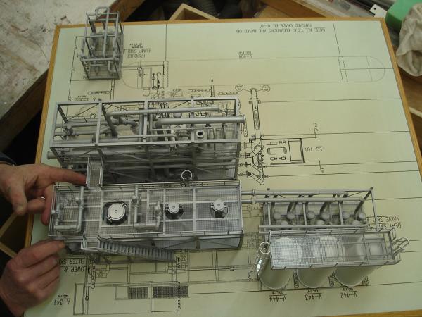 Prefab Gasification Plant model