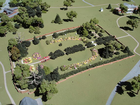 garden 1:500 scale