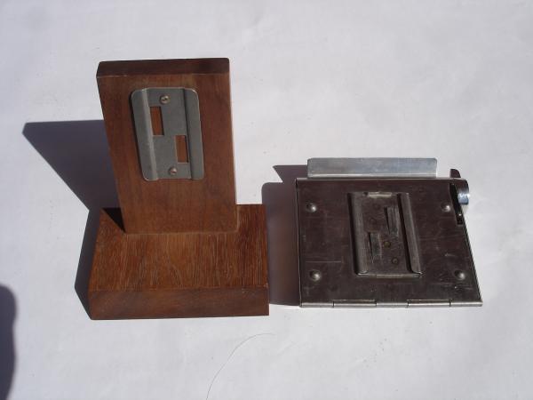 Raymond Loewy ashtray mounting plate
