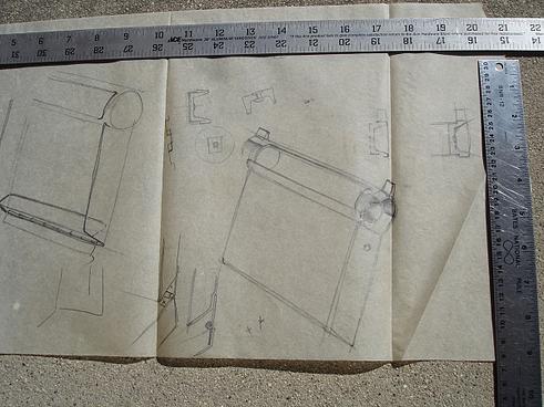 ashtray sketch