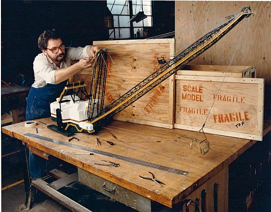 Dragline model