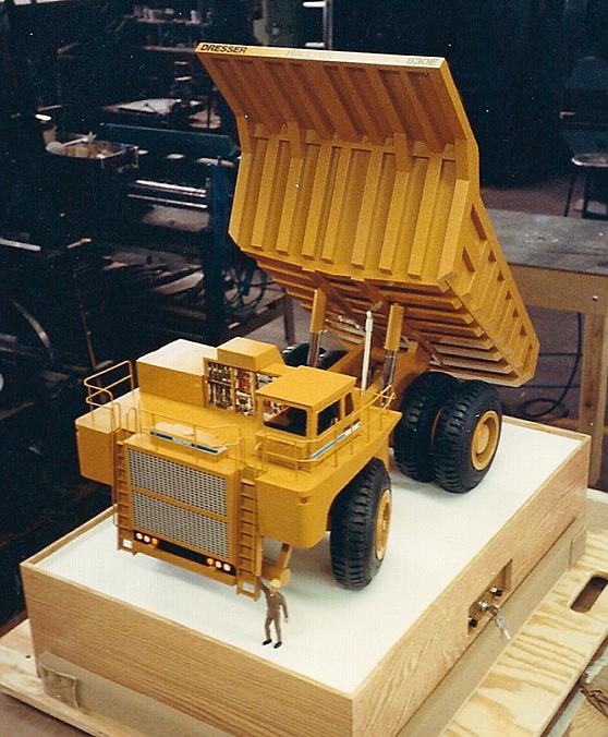 Mining truck model