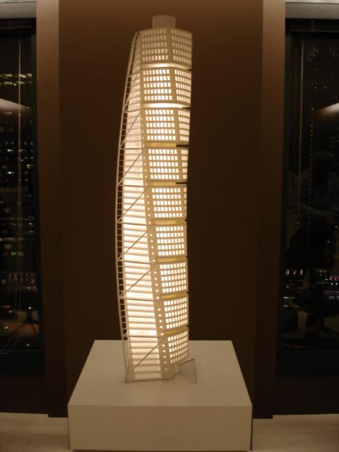 Malmo Turing Torso Tower - Calatrava