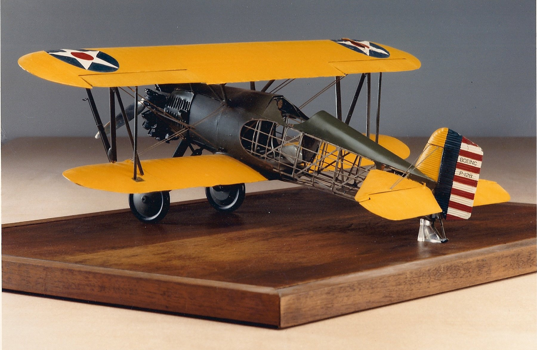 Boeing P-12B model William Chaffee 1930