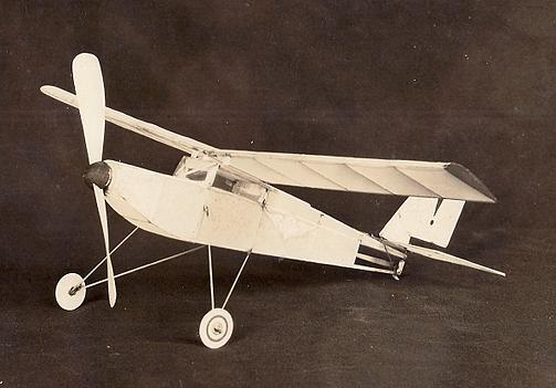 Chaffee C-4 fuselage model airplane