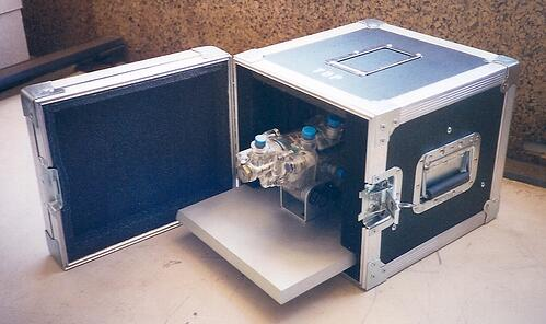 aircraft oil pump with sales case
